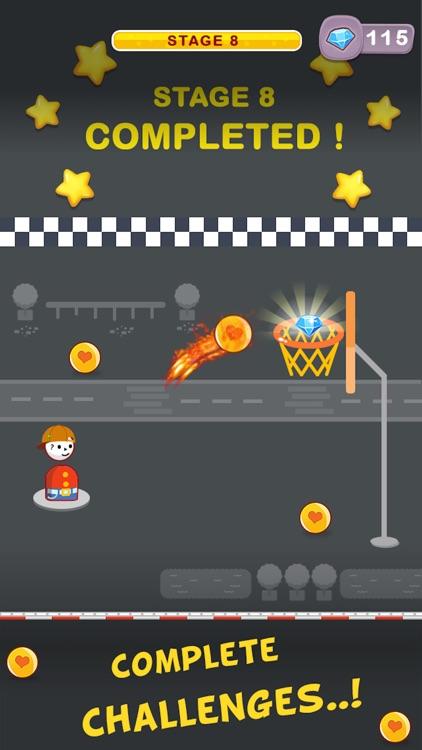 Street Dunk Basketball Game screenshot-3