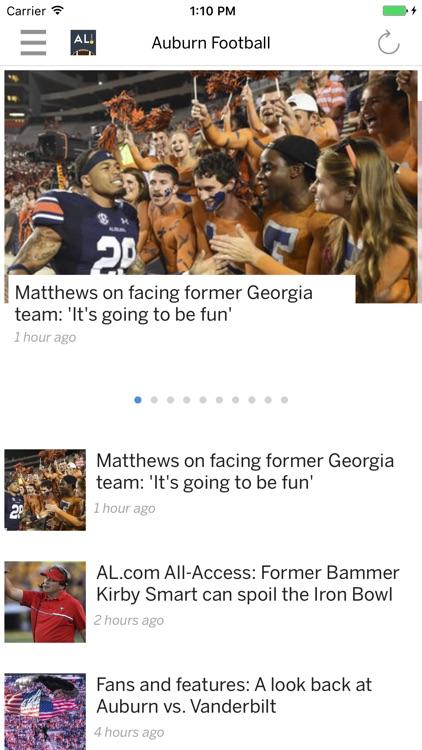 AL.com: Tigers Football News