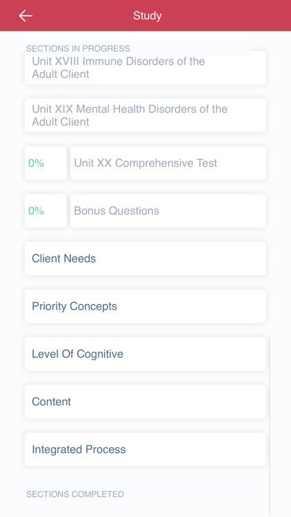Saunders Comp Review NCLEX RN screenshot-5