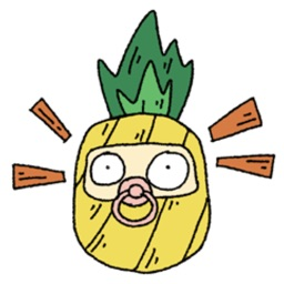 Pineapple Pineapple Stickers