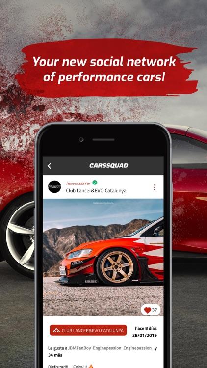 CarsSquad: Social network cars