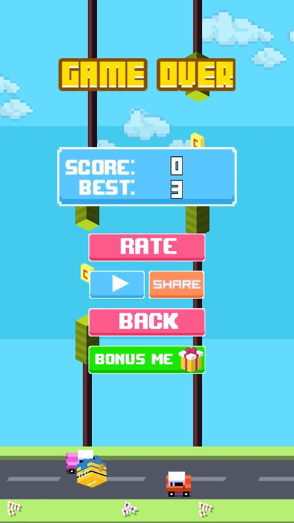 Flappy Road - Story of Minions screenshot-3