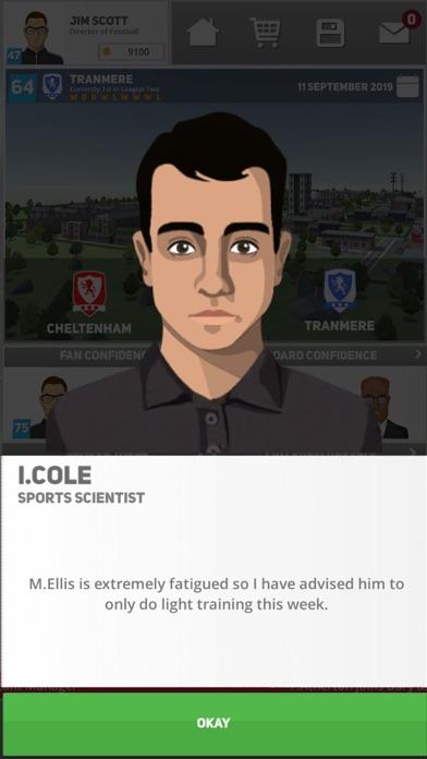 Club Soccer Director 2020 screenshot #3
