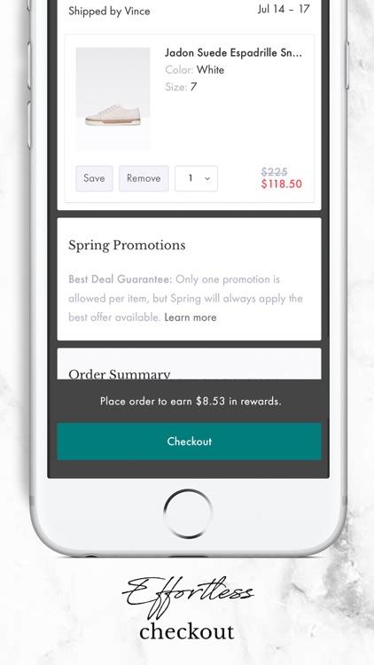 Shop Spring screenshot-5