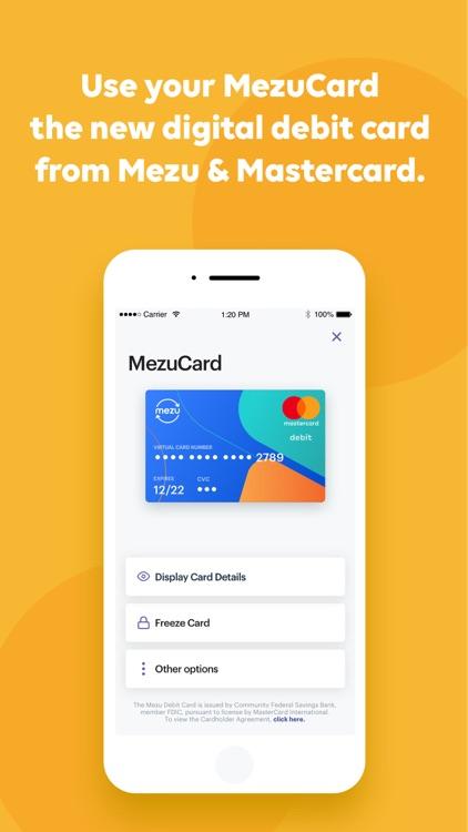 Mezu - The Global Payment App screenshot-3