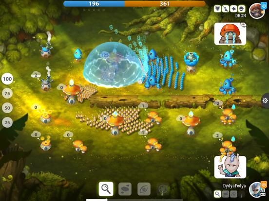 Mushroom Wars 2: ПвП Стратегия на iPad