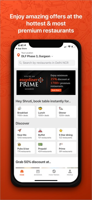 Eazydiner Table Reservations On The App Store
