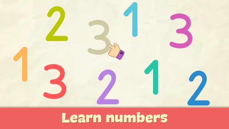 123 learning games for kids 2+ screenshot-0
