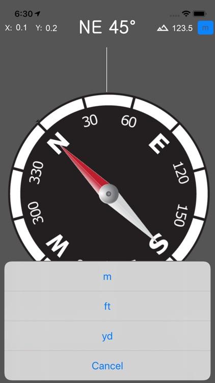 Compass & GPS screenshot-3