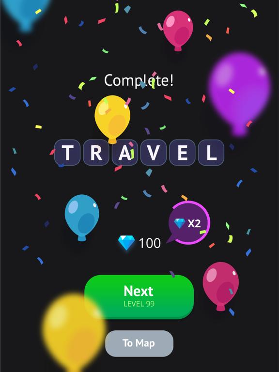 Word Travel: Pics 4 Word screenshot 9
