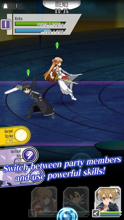 SWORD ART ONLINE;Memory Defrag screenshot-2
