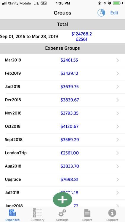 Flexi Expense Recorder screenshot-3