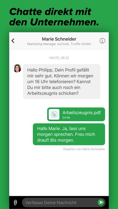 Job App - trufflsScreenshot von 8