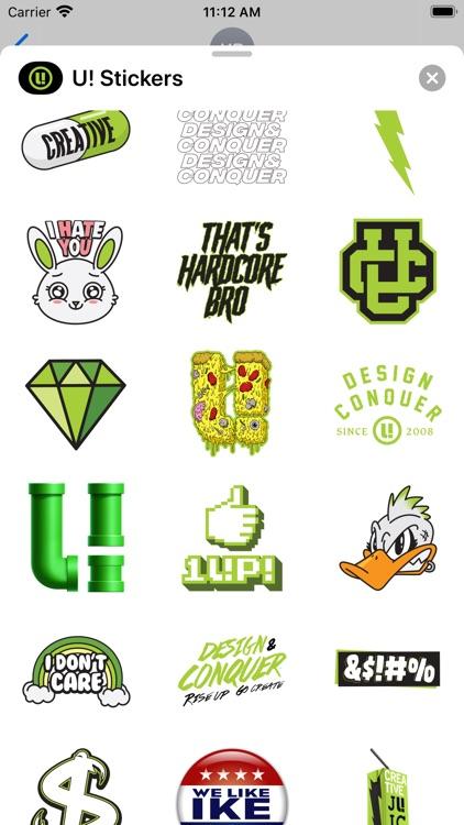 U! Stickers