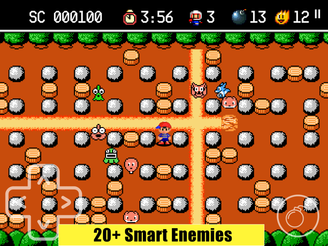 Bomb Boy Adventure, game for IOS