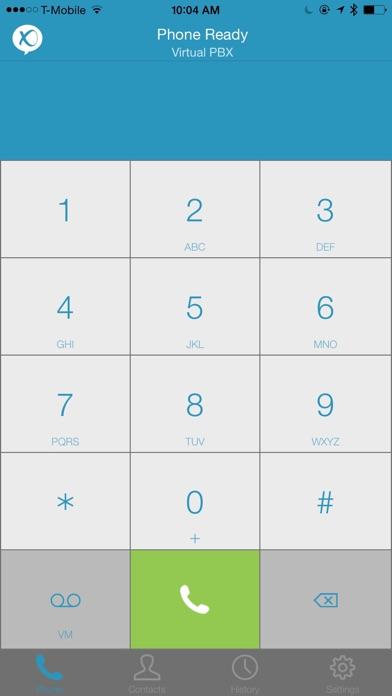 VirtualPBX SoftphoneScreenshot of 1