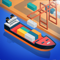 App Icon for Idle Port Tycoon - Sea game App in South Africa IOS App Store