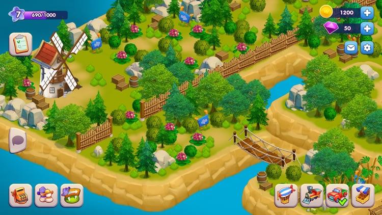 Golden Farm: Fun Farming Game screenshot-3