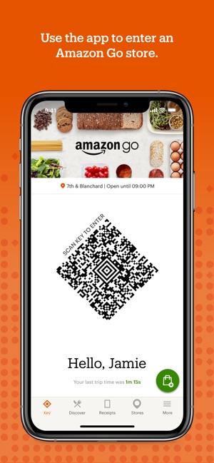 e37f2e40becd8c Amazon Go on the App Store