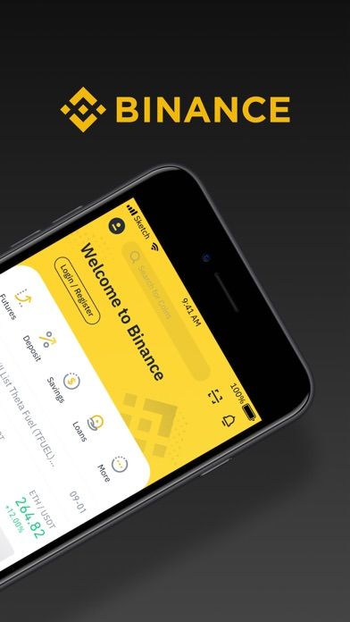 Screenshot #2 pour Binance - Crypto Trading App