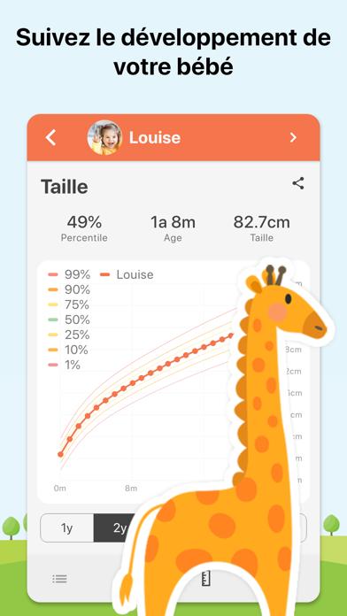 Screenshot for Baby Daybook - Suivi Bébé in Lebanon App Store