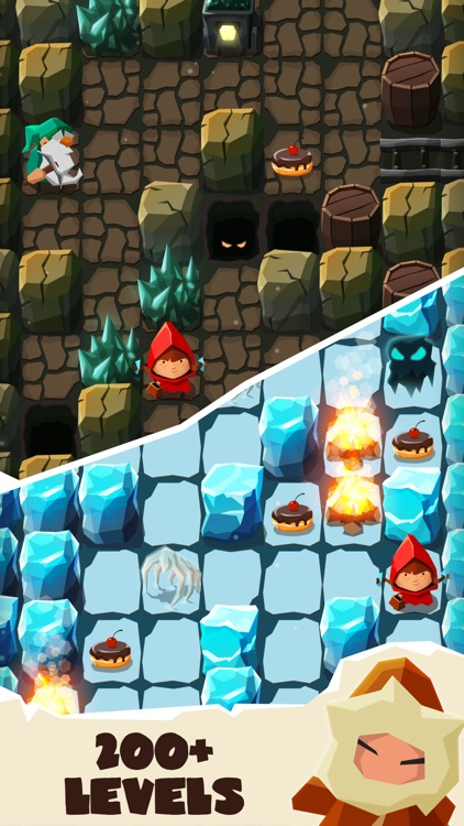 Bring me Cakes - Fairy Maze screenshot-1