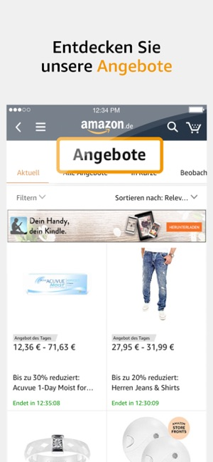 Amazon App Angebot