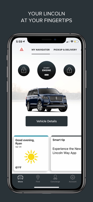 My Lincoln Mobile App >> The Lincoln Way On The App Store