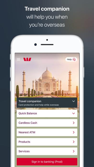 Westpac Mobile Banking screenshot four