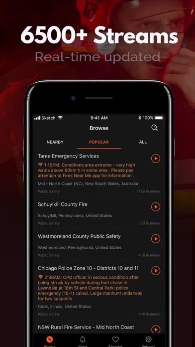 Police Scanner, Fire Radio Screenshot