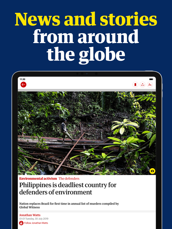 The Guardian - Live World Newsのおすすめ画像2