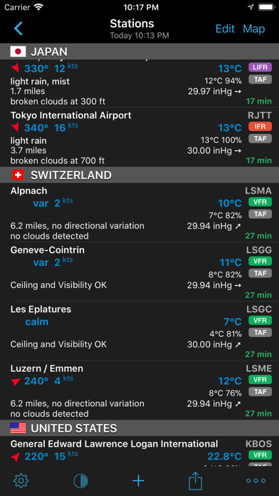 Aeroweather Pro review screenshots