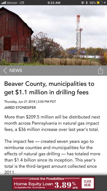 Beaver County Times News screenshot-5