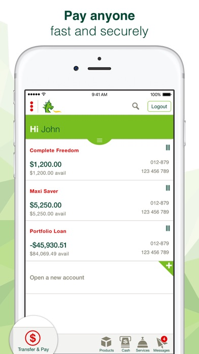 St.George Mobile Banking screenshot two