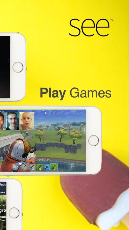 SEE Screen Share & Video Chat screenshot-4