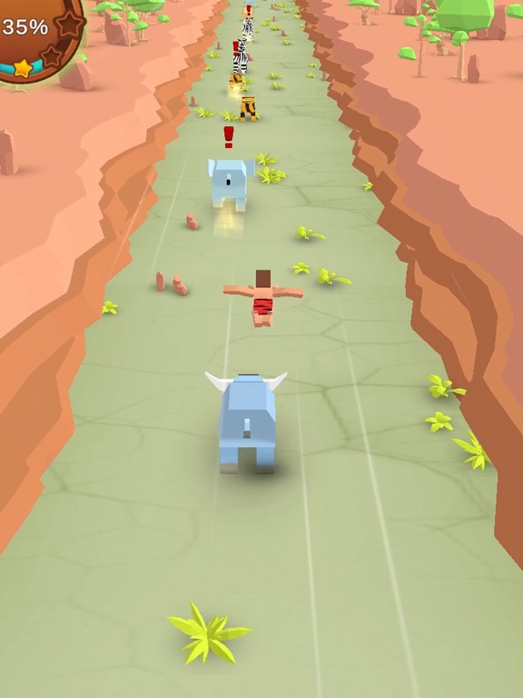 Jungle Rush 3D screenshot 9