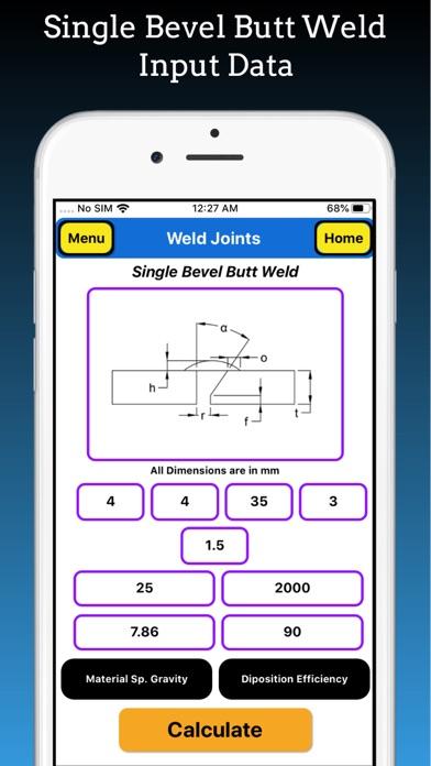 Welding Weight Calculator screenshot 7