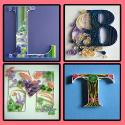 Quilling Alphabet wallpapers