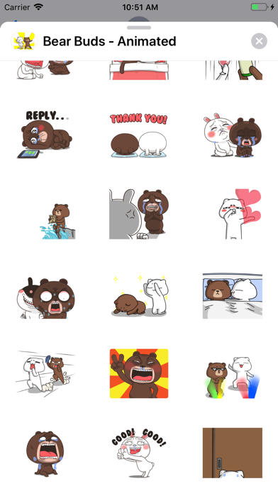 Bear Buds - Animated screenshot 3
