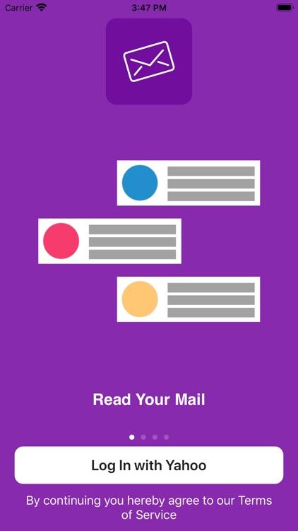MiniMail for Yahoo Mail screenshot-3
