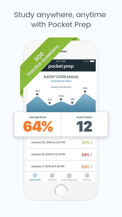 CCRN Adult Pocket PrepScreenshot of 1