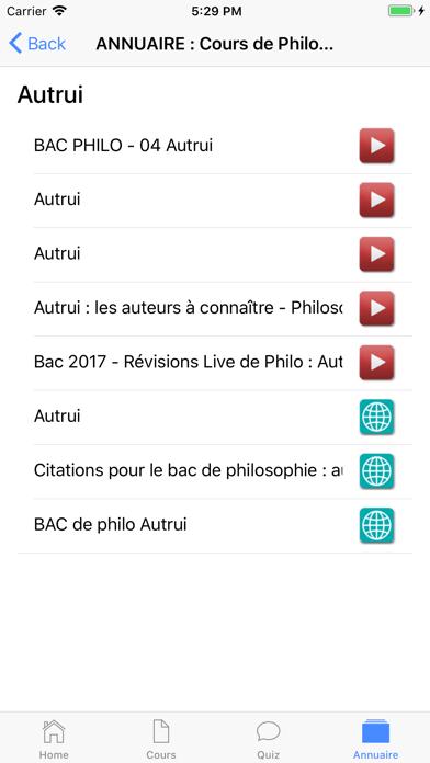 Cours de Philosophie screenshot 7
