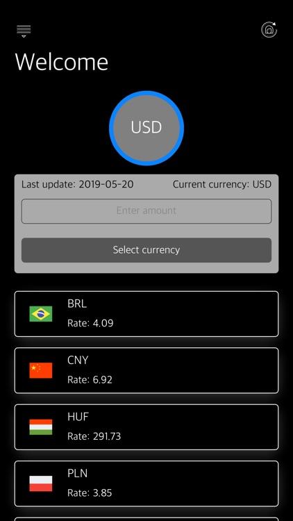 Currencies - Smart Converter