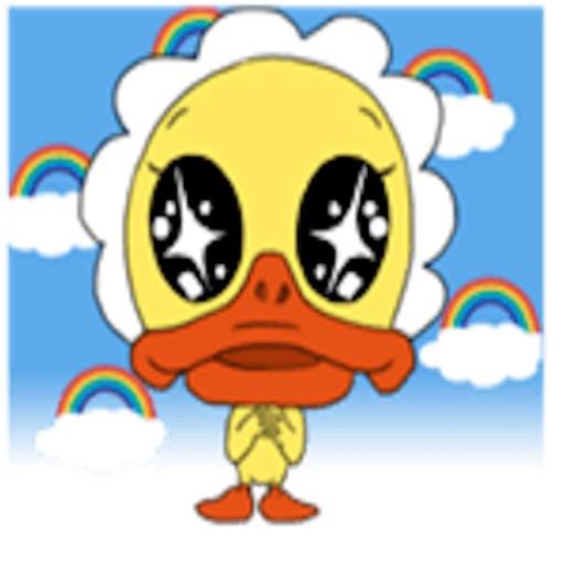 Funny Little Duck Sticker