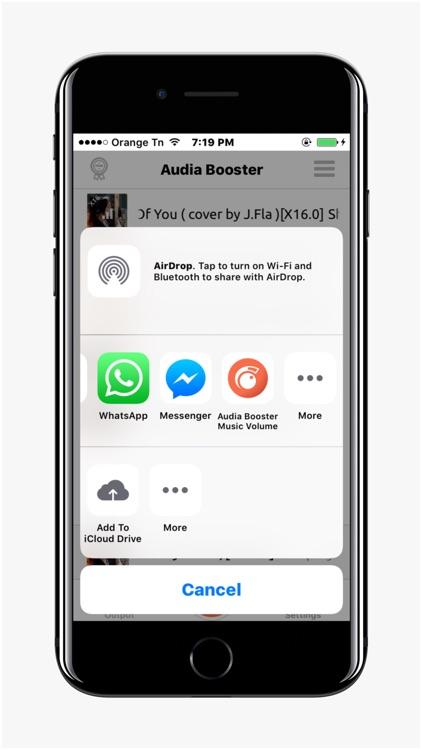 Audia Booster Volume Music screenshot-4