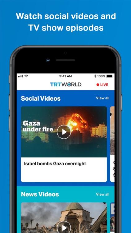 TRT World screenshot-3