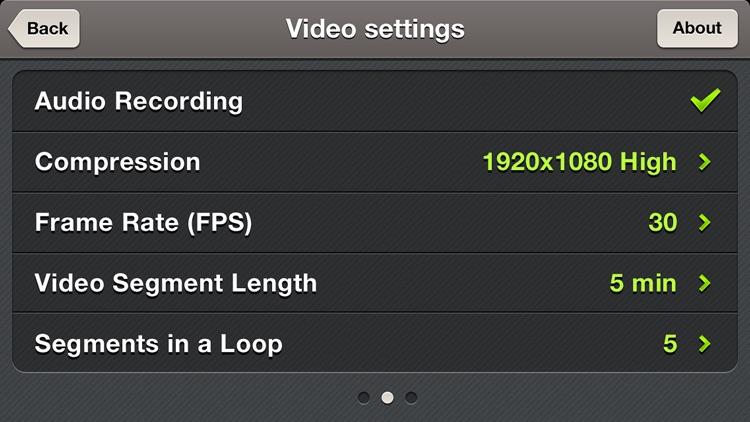 Car Camera DVR. Pro screenshot-3