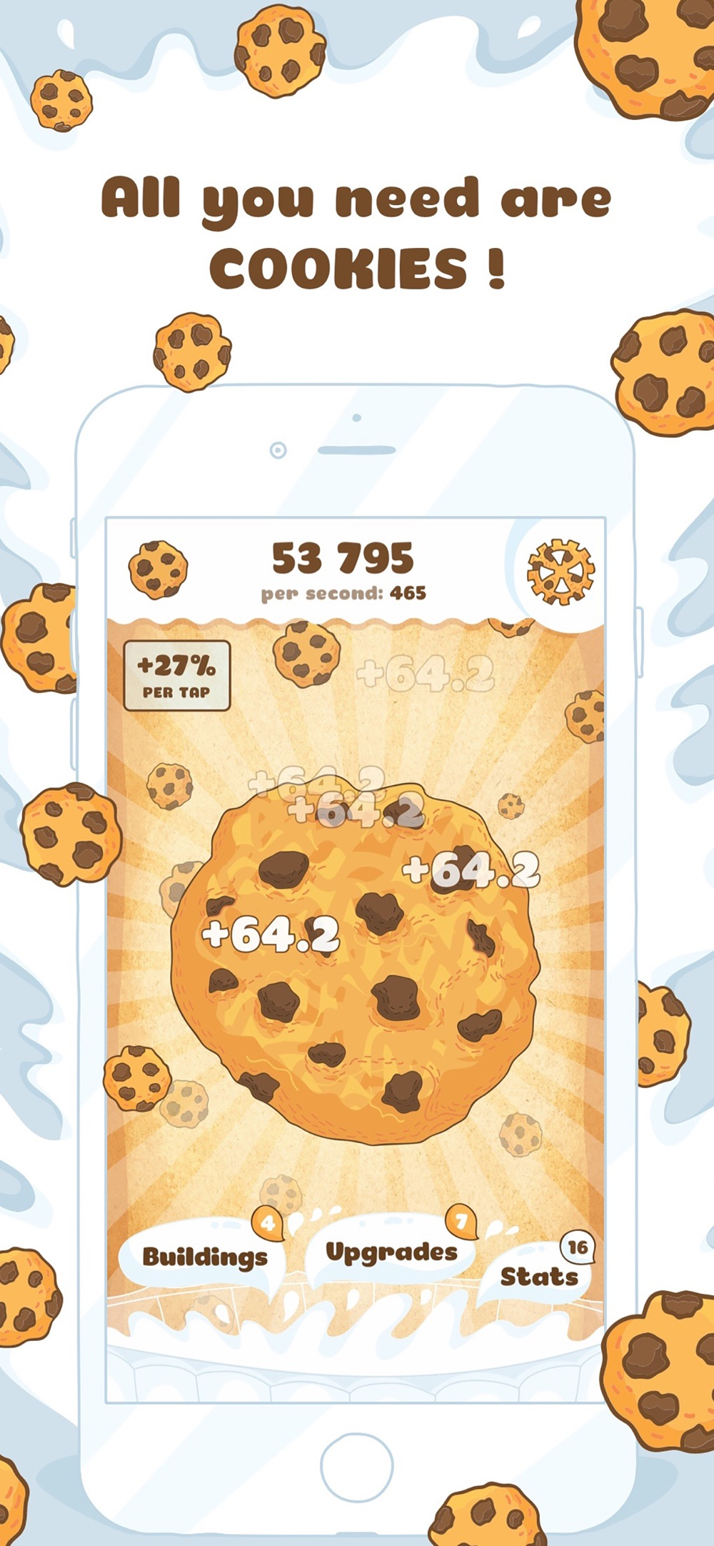 Cookies! Sweet Clicker Game Cheat Codes