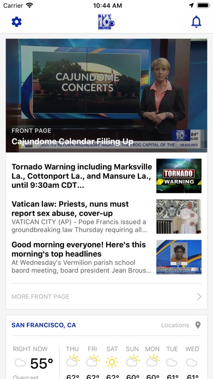 KLFY News 10 screenshot-0