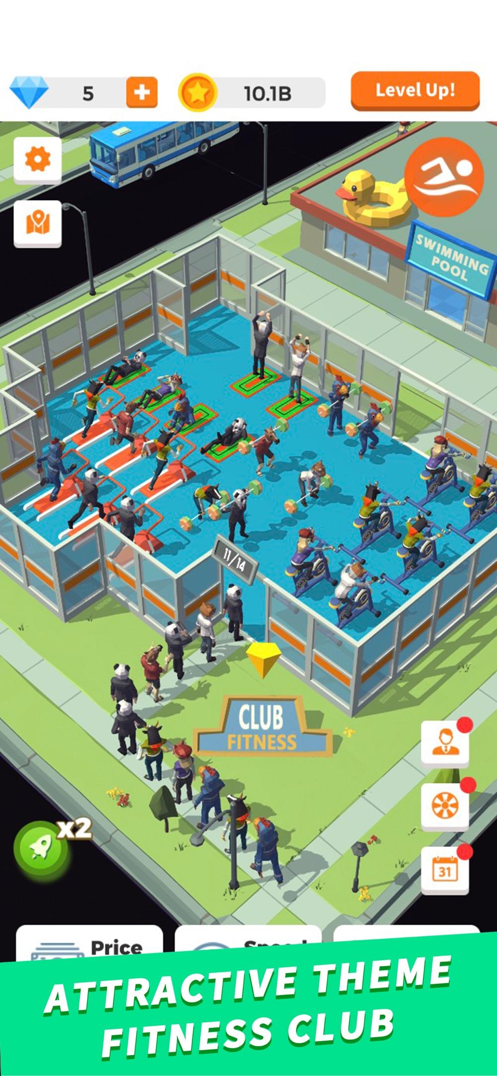 Idle Gym – Fitness Simulation